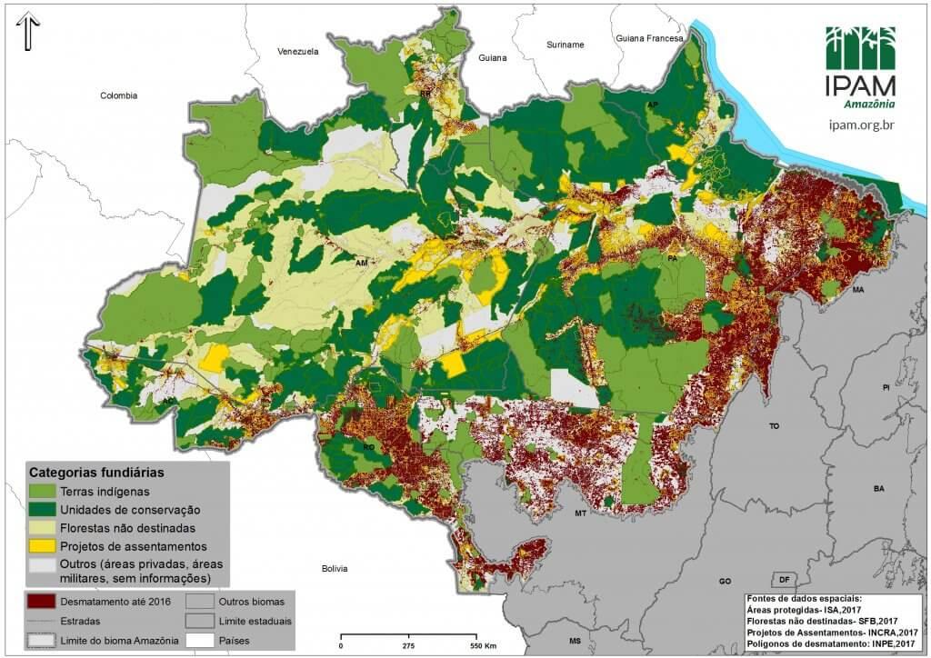 Ipam Amazônia Unidades De Conservação