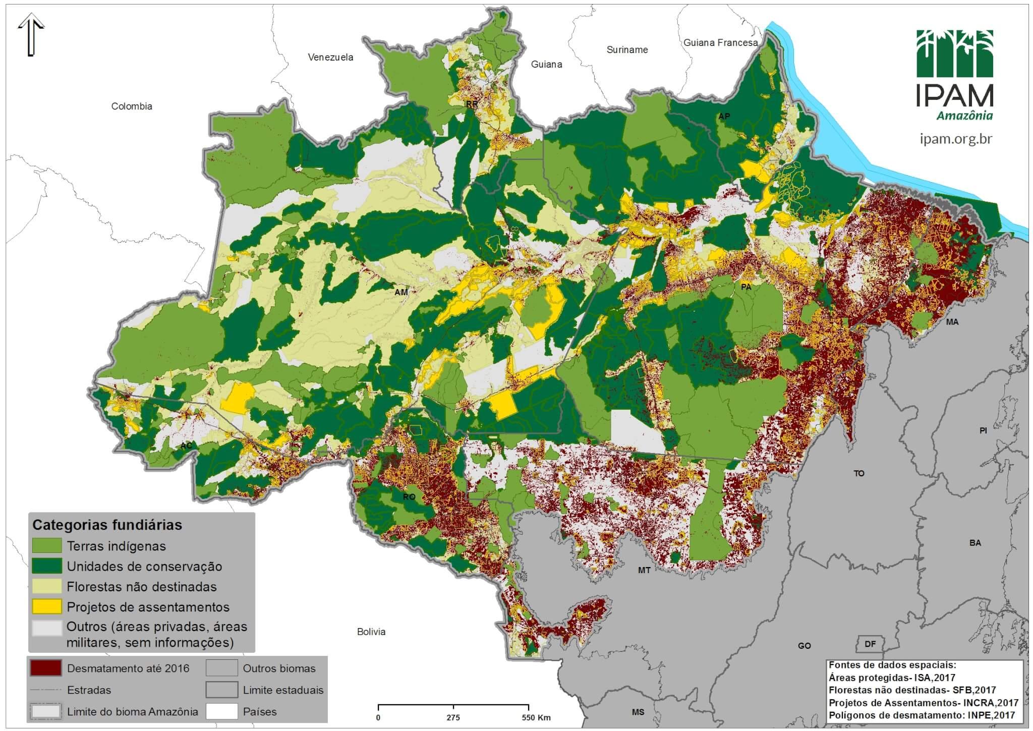 Mapa Amazônia