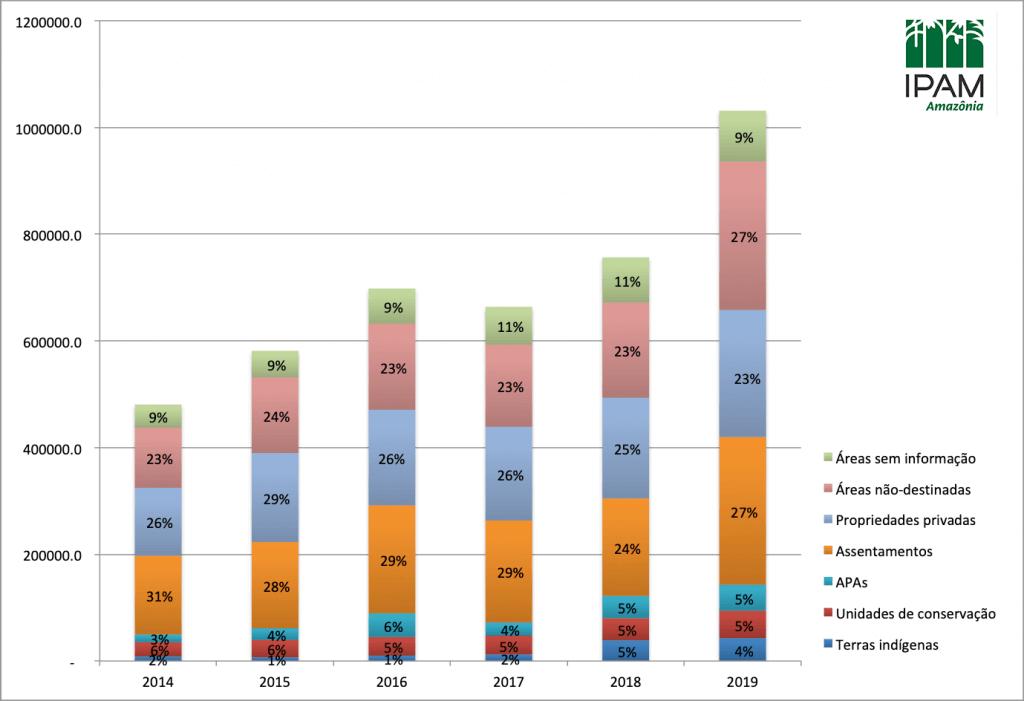 35% do desmatamento na Amazônia é grilagem